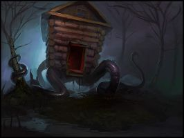 Tentacle Hut by bopchara