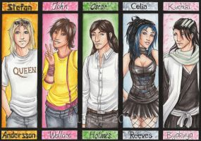 Commission Bookmarks 8 by Lienwyn
