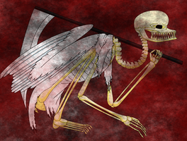 angel of death by molingirl