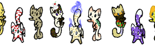 food kitten adopts 4-10 points OPEN by Deep-Fried-Love