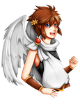 Kid icarus uprising: Pit by kimbolie12