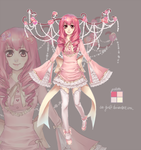Sweet Rosy Antler Girl AUCTION (CLOSED) by Seojinni
