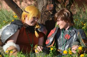 Hiccup and Astrid by Hiccup56
