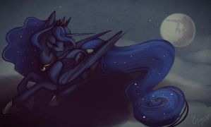 Moon by CasyNuf