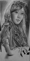 Progression 82.3% of Taeyeon drawing by Thesadsteven