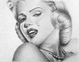 Marilyn Monroe by JaneyArt