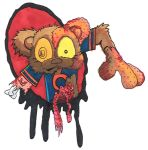 Lil' Zombie Chicago Bear by 5chmee