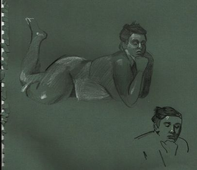 Life Drawing 8 by Souhaits