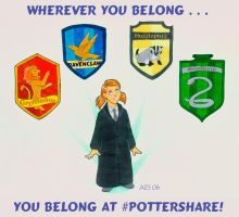 Pottershare Advert by laerry