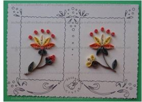 Quilling - Card 16 by Eti-chan
