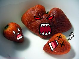 Mutant Strawberry by XxH3LLOxKiMCHixX