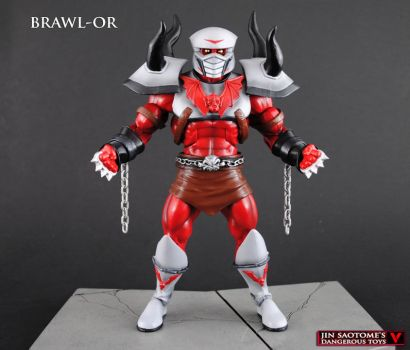 Custom Masters of the Universe Brawl-Or by Jin-Saotome