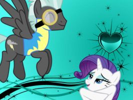 Rarity falling for Thunderlane by Princess-Whatever