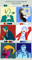 OP: color scheme challenge by kirayukari