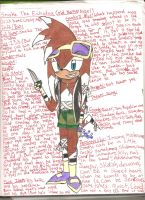 Snake - My forth Sonic OC by Gangster-dog