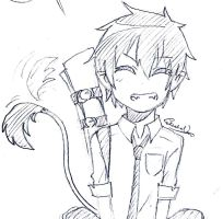 More of Rin Okumura by redhotcinnamontwist