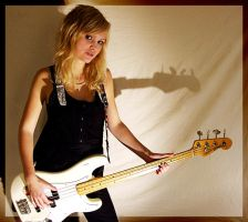 Sanna with bass by sic-purity