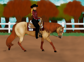 SH Western Pleasure -- Sienna by ShowDiva
