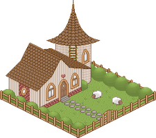 Sheep House by Xipako