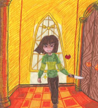 Chara took the control. by Maylyne72