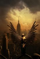 Angel of Cities by alanleal22