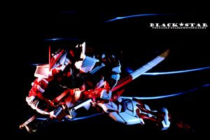 Astray Red Frame KAI - Shadow Slash by voltaired