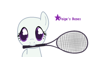 Playing Tennis Base :REQUESTED: by Paige-the-unicorn