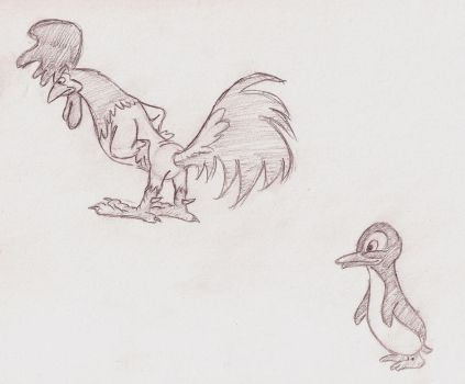 Preston Blair study 2 by dorseytunes