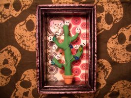 christmas cactus by alteredboxes