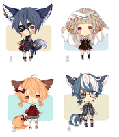 [CLOSED] ADOPT 12 by Minn-Adoptables