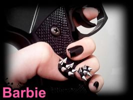 Spikes Studs Nails by BarbieNailArt