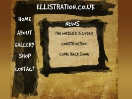 Ellistration.co.uk homepage by chris-ellis