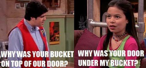 Why was your door under my bucket? by Pinky1babe