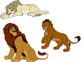 Lion Story Adopts  2 - CLOSED by PCollinsAdoptables