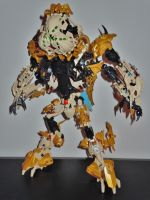 MOC Revamp: Vanuux the Skorpian Collossus by CYBERDYNE101