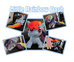 My Little Rainbow Dash by The-Night-Craft