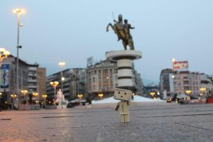 Skopje by latifovic