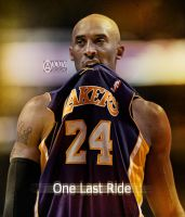 Kobe Bryant  'One Last Ride' by pllay1