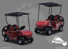 GolfCart No Text by CLUBF00T