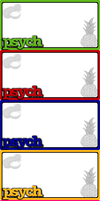 Psych Trivia Cards - New Ones by glomdi