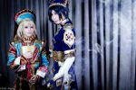 Trinity Blood: Ion and Radu by SilentCircus90