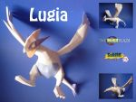 lugia papercraft by dodoman75