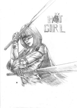 Hit Girl by cric