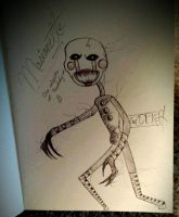Marionette Sketch by totalKaOs9