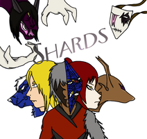 Shards Cover Page Thingie by NinjaWerewolves