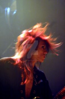 Sugizo with Juno Reactor I by stratamander