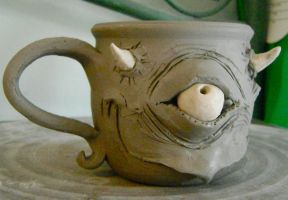 mischievous mug-unfinished by thebigduluth