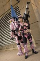 Pink Marine by PaleFunnyGhost