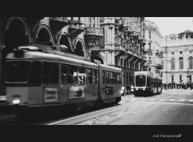 Tram II by OviXPhotography