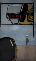 Daft punk: after all by radioactivemoos